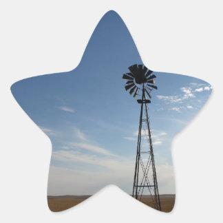 Prairie Sentinel Star Sticker