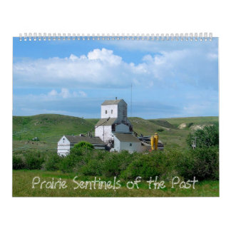 Prairie Sentinels of the Past Wall Calendars