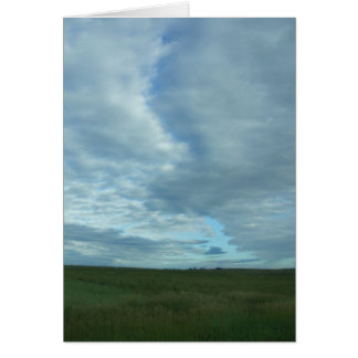 Prairie Sky Greeting Card