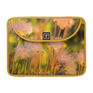 Prairie Smoke Wildflowers In Aspen Grove MacBook Pro Sleeves