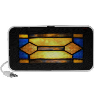 Prairie Stained Glass Doodles Speaker