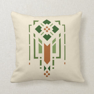 Prairie Stencil Throw Pillow