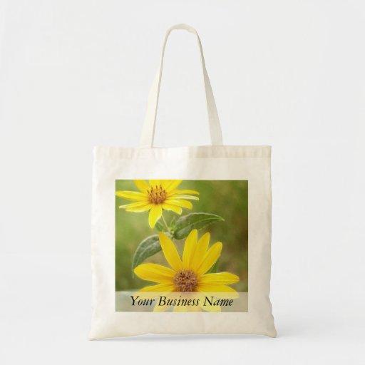 Prairie Sunflower - Helianthus maximilianii Budget Tote Bag