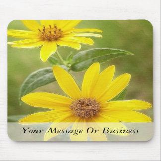 Prairie Sunflower - Helianthus maximilianii Mousepads