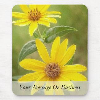 Prairie Sunflower - Helianthus maximilianii Mouse Pad