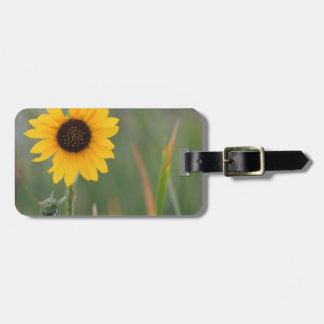 Prairie Sunflower Tag For Bags