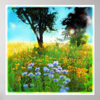 Prairie sunrise,poster poster