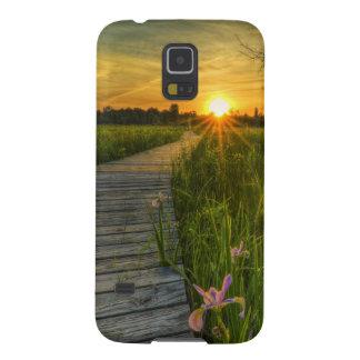 Prairie Sunset Galaxy S5 Cover
