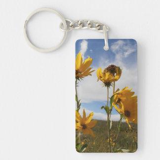 Prairie Sunset Keychain