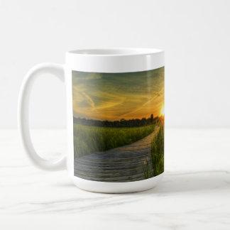 Prairie Sunset Classic White Coffee Mug