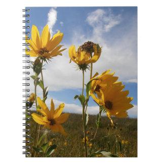 Prairie Sunset Spiral Notebook