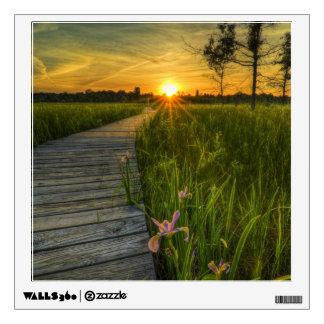 Prairie Sunset Wall Sticker