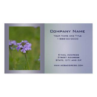 Prairie Verbena Wildflower Business Card