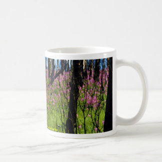 Prairie wildflower, fireweed growing in forest bur classic white coffee mug