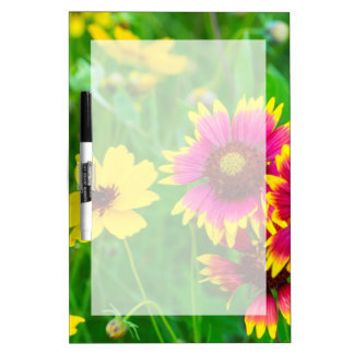 Prairie wildflowers in Hill Country Dry-Erase Board