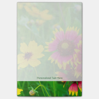 Prairie wildflowers in Hill Country Post-it® Notes