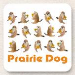 Prairiedogs , プレーリードッグ , Cork Coaster