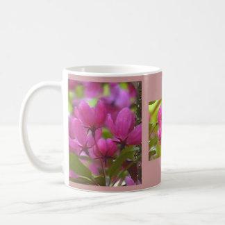 Prairiefire crabapple in spring classic white coffee mug