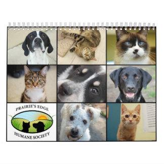 Prairie's Edge Humane Society 2012 Large Calendar