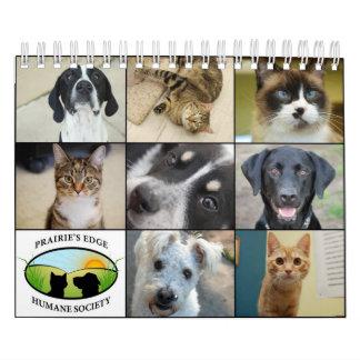 Prairie's Edge Humane Society 2012 Small Calendars