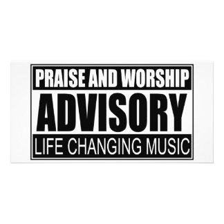 Praise And Worship Advisory... Card