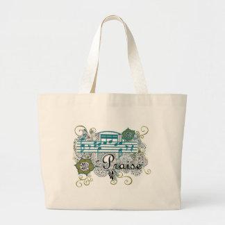 Praise Jumbo Tote Bag