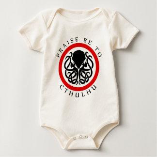 Praise Be To Cthulhu Baby Bodysuit