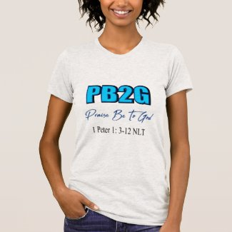 Praise Be To God-Blue T-Shirt