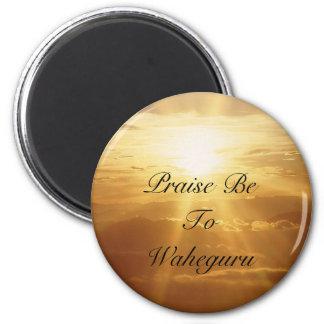 Praise Be To Waheguru Magnet