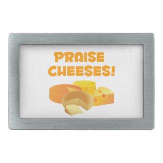 Praise Cheeses! Belt Buckle