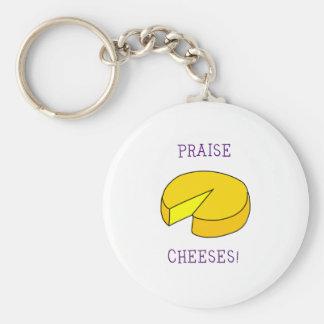 Praise Cheeses Keychains