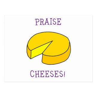 Praise Cheeses Postcards