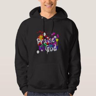 Praise God Paint Splatters Christian Shirt