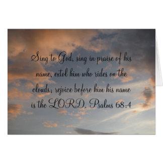 Praise Him Greeting Card