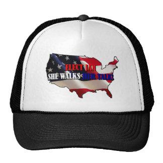 Praise Jan Trucker Hat