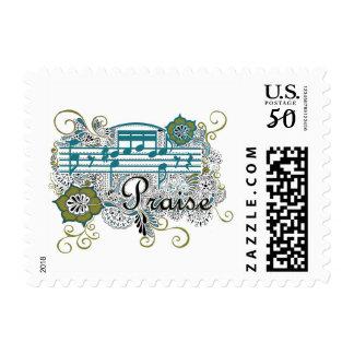 Praise Musical Stamp