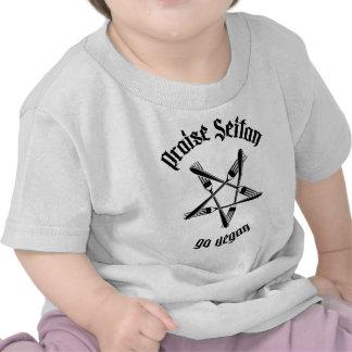 Praise Seitan 1.1 (black) T Shirt