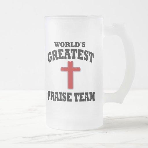 Praise Team Coffee Mug