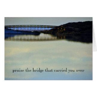 Praise the Bridge Card