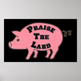 Praise the Lard Poster