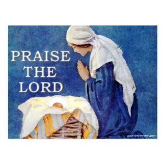 PRAISE THE LORD POSTCARD
