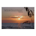 Praise the Lord (Psalms 113:3) Scripture Poster