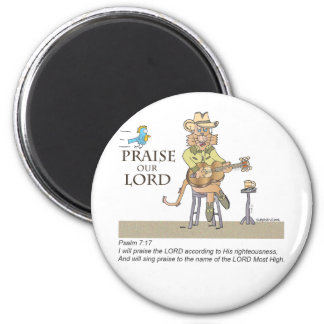 Praise the Lord with Country Magnet