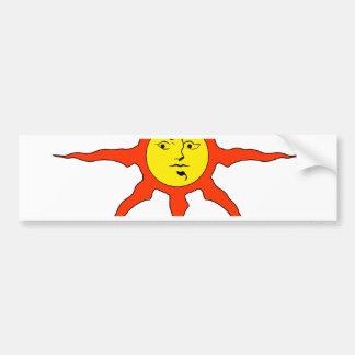 Praise the Sun logo Bumper Sticker