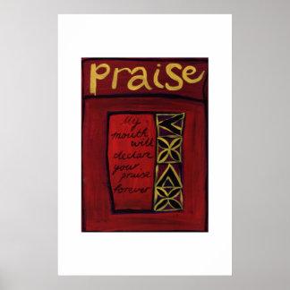 Praise v2 posters