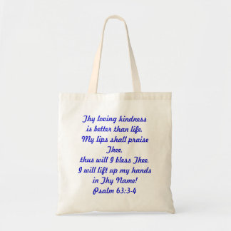 Praise & Worship Book Bag