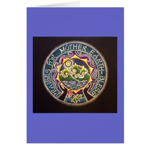 Praises for Mother Earth Mandala Card