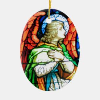 Praising God Ceramic Ornament