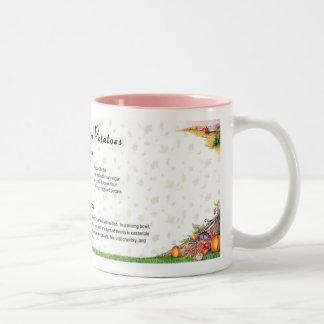 Praline Sweet Potatoes Two-Tone Coffee Mug