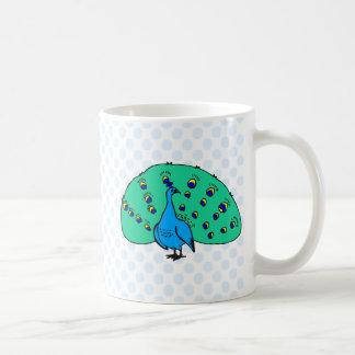 Pran Peacock Coffee Mug